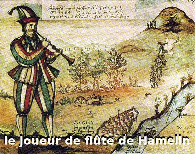 joueur de flute hamelin