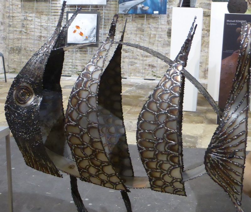 poisson scupture