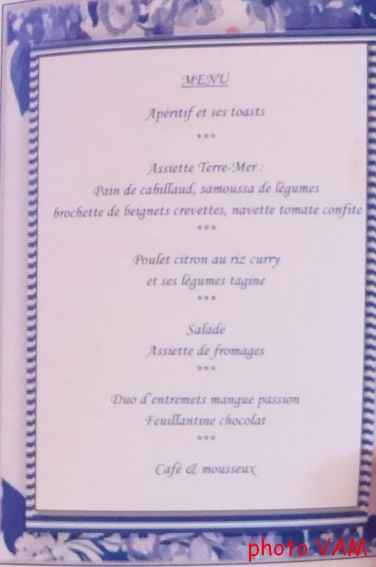 menu seul