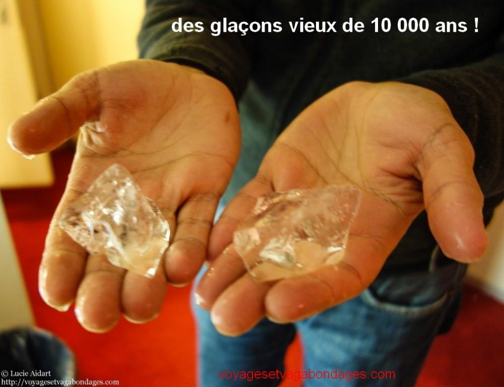 glacons